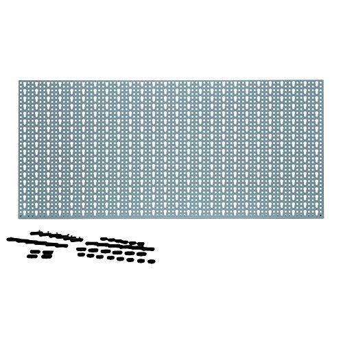 Metall Werkzeugwand 46x98cm mit 44 Haken