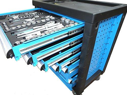 Bensontools Werkstattwagen Blue Edition bestückt mit Werkzeugen - 2