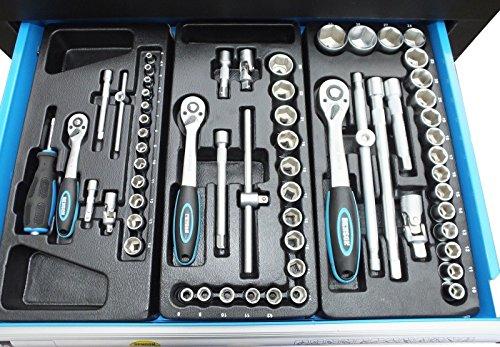 Bensontools Werkstattwagen Blue Edition bestückt mit Werkzeugen - 3