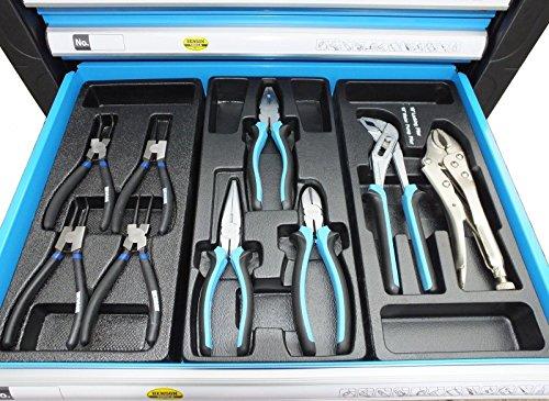Bensontools Werkstattwagen Blue Edition bestückt mit Werkzeugen - 4