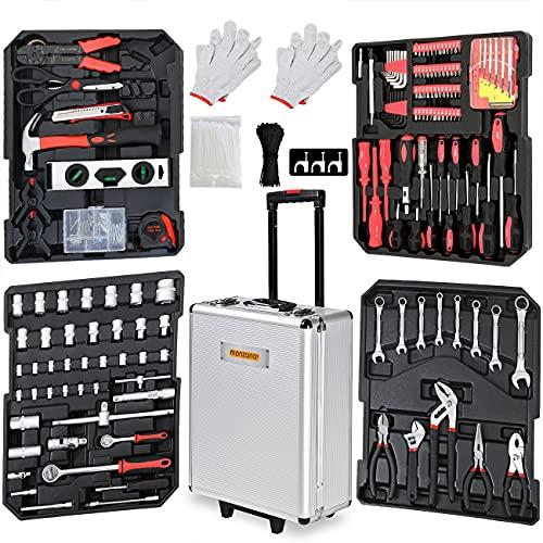 Monzana® Werkzeugkoffer 629tlg