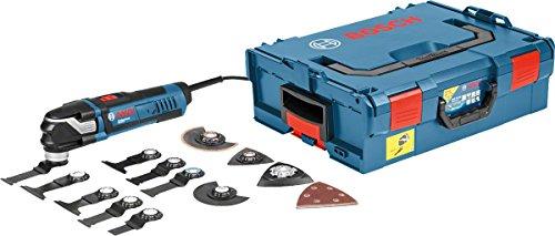 Bosch Professional Multi-Tool GOP 40-30 mit 16 teilig Zubehör-Set
