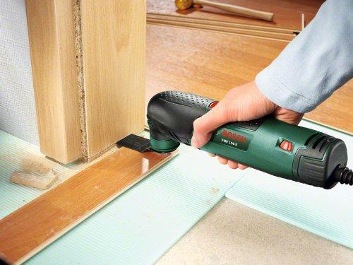 Bosch DIY Multifunktionswerkzeug PMF 190 E Set Anwendung Schleifen