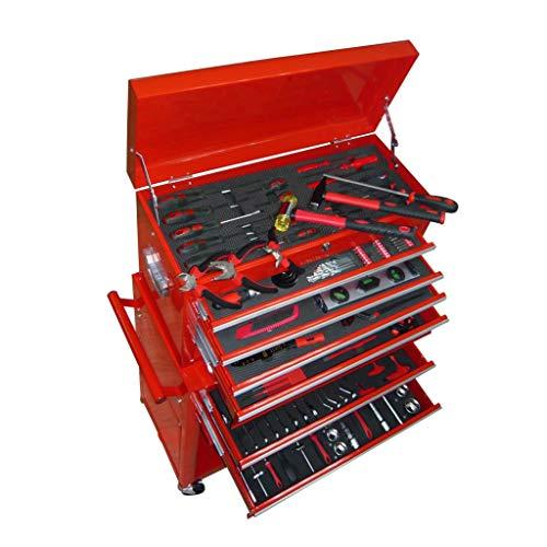 vidaXL Werkstattwagen gefüllt mit über 250 Werkzeuge
