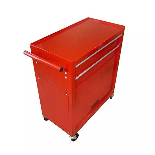 vidaXL Werkstattwagen gefüllt mit über 250 Werkzeuge - 3