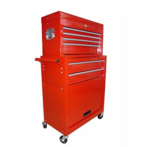 vidaXL Werkstattwagen gefüllt mit über 250 Werkzeuge - 7