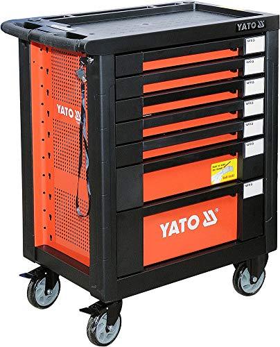 Yato Werkstattwagen mit 211-tlg Werkzeugset