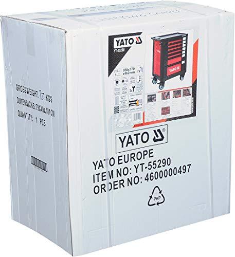 Yato Werkstattwagen mit 211-tlg Werkzeugset - 2
