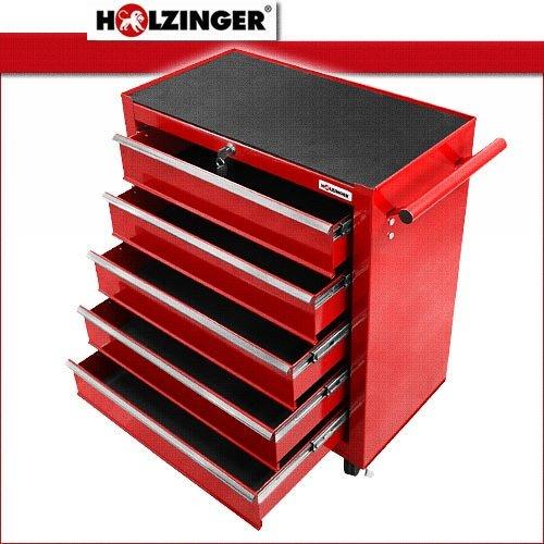 Holzinger Werkzeugwagen HWW1005KG – 5 Fächer - 2