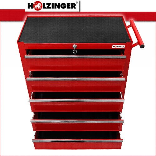 Holzinger Werkzeugwagen HWW1005KG – 5 Fächer - 3