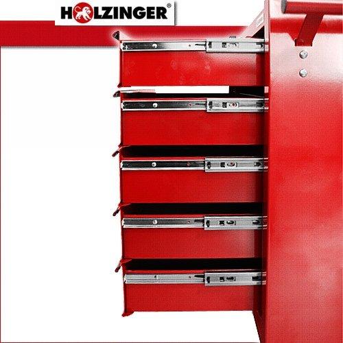 Holzinger Werkzeugwagen HWW1005KG – 5 Fächer - 5