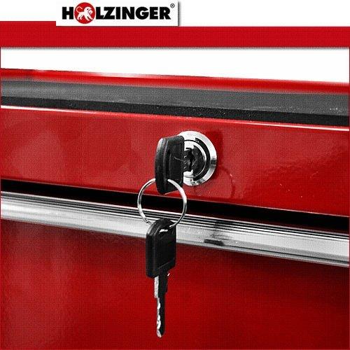 Holzinger Werkzeugwagen HWW1005KG – 5 Fächer - 6