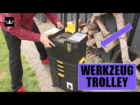 ✅ Günstiger WERKZEUGWAGEN - 🛠 WerkzeugTrolley im Test 60 Euro