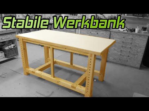 So baust du eine stabile Werkbank für die Werkstatt | #1