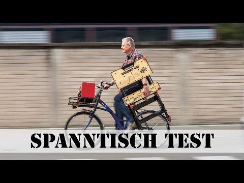 Spanntisch Test