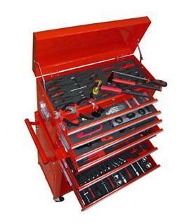 vidaXL Werkstattwagen gefüllt mit über 250 Werkzeuge - Übersicht