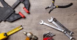 Einhandzwinge und weitere Werkzeuge