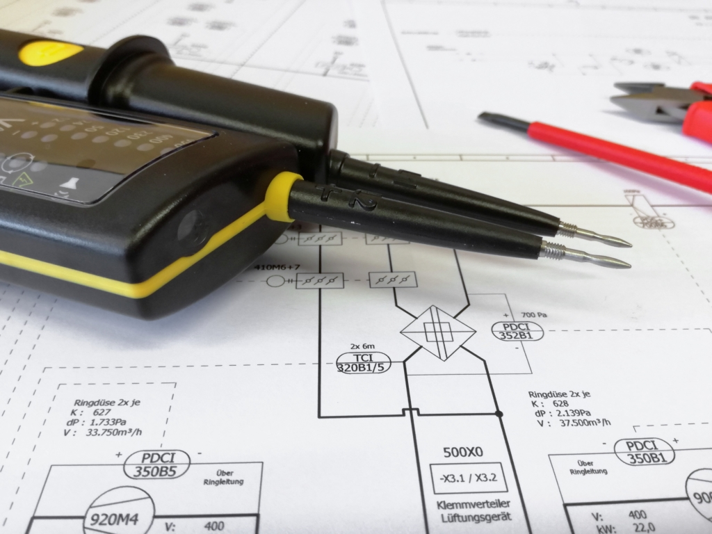 Prüfwerkzeug oder Messgeräte für den E-Check gemäß DGUV Vorschrift 3